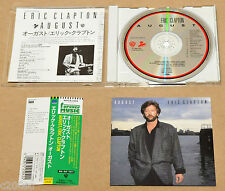 "ERIC CLAPTON - AUGUST, 1997 JAPAN CD + ""FOREVER MUSIC"" OBI, FREE SHIPPING!"