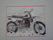 - RITAGLIO DI GIORNALE 1982 MOTO MAICO MX 250