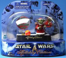 Star Wars Saga Ultra rare USA FAN CLUB EXCLUSIVE Holiday Yoda SEALED Comme neuf. En parfait état, dans sa boîte