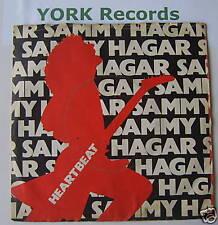 "SAMMY HAGAR - Heartbeat - Excellent Condition 7"" Single"
