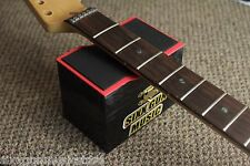 SGM Guitar Neck Rest Support & Luthier Tech Tool Box, Black + Free String Winder
