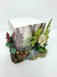 Babbling Brook Fairy Butterfly Notepad holder Figurine Ornament  - Nemesis Now
