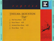 THELMA HOUSTON  High 4x  promo CD Single  1990  Reprise