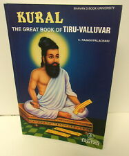 Kural The Great Book Of Tiru-Valluvar By C. Rajagopalachari, Paperback 2013