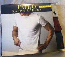 Authentic Polo Ralph Lauren 3 Classic Fit Cotton Cotton Crews Size L