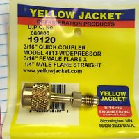 YELLOW JACKET RITCHIE Quick Coupler 3/16 x 1/4  #19120