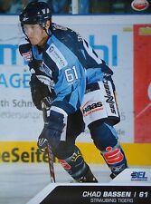 394 Chad Bassen Straubing Tigers DEL 2009-10