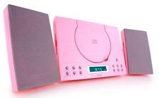 Denver Rose CD Radio-réveil Lecteur Montage Mural stéréo compact hifi système NEUF