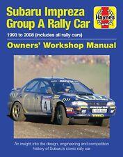Haynes Subaru Impreza Gruppo UN RALLY - Manuale d'OFFICINA H6110