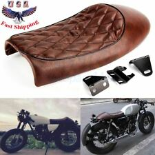 Hump Saddle Cafe Racer Vintage Seat Cushion For Honda CBR CL Suzuki GN Yamaha US