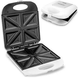 Tostiera XXL Sandwichmaker Sandwich Maker grill tostapane bianco 1000 W BPA free