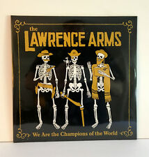 LAWRENCE ARMS we are the champions of the world x2 LP Vinyl Record SEALED / NEW