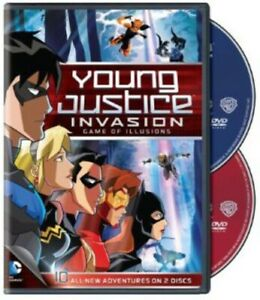 YOUNG JUSTICE GAME OF ILLUSIONS: SEASON 2 - PART 2 NEW DVD