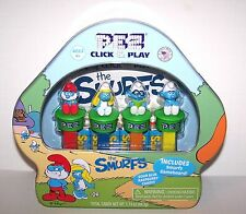 New Release 2017~Smurf Click and Play Tin~Sour  Blue Raspberry Candy & Gameboard
