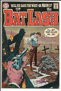 BAT LASH #6 --- WESTERN!! DC Comics!! Sep 1969!! GREAT SHAPE!! FN+