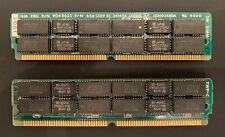 2x IBM 2MB 72 Pin SIMM mit je 16x NEC 424256-80 FPM DRAM, 80 ns