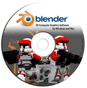Blender-PRO 3D Graphic Design-Animation-Video Game Creation Software-Windows Mac
