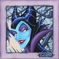 Twisted and Evil - Trevor Carlton- Limited Edition Giclée On Canvas
