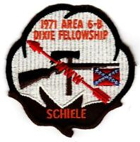 1971 Dixie Fellowship Patch Camp Bud Schiele Hosted By Eswau Huppeday 560 [CC423