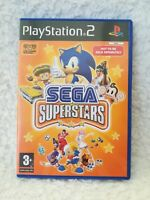 PS2 PlayStation 2 Sega Superstars game 3+ 2004 12 super games in 1 + manual test
