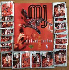 Michael Jordan Upper Deck Sticker Album New W/ 25 Sealed Packs Chicago Bulls