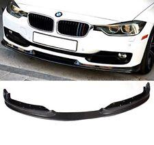 Carbon Fiber Front Lip Spoiler for BMW F30 New 3-Series Plus Bonus Boot Spoiler