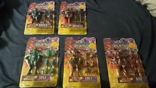 PLAY RONIN WARRIORS SAMURAI TROOPERS LOT OF 5 Action Figures Anime Toys