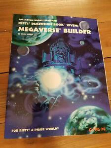 Rifts Dimension Book Seven Megaverse Builder Gleba Softcover Paladium