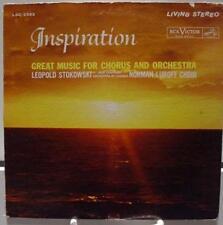 LEOPOLD STOKOWSKI inspiration LP VG+ LSC-2593 Living Stereo USA SD 1962