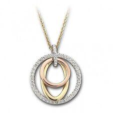SWAROVSKI Kette Mambo 1121741 Kristall silber silber rose gold 38cm NEU OVP