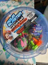 New Aqua Blaster Water Bomb Battle Bucket 300 Water Balloons