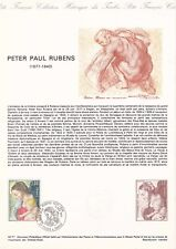 Document philatélique 42-77 1er jour 1977 Peter Paul Rubens Peintre