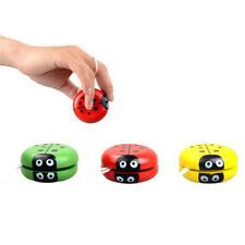 Yoyo Classic Toys Insect Bug Ladybug YoYo Ball Kids Creative Wooden Gift Toy XC