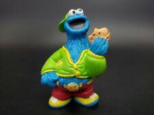 Vtg Sesame Street Cookie Monster PVC figure Muppets Henson