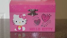 Fab Starpoint Hello Kitty Wind Up Musical Jewelry Box 2010 *Ec*