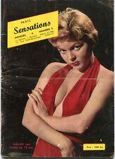 Paris sensations N°5 - Photos femmes nues -  Revue mensuelle
