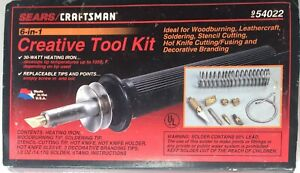 Vintage Sears Craftsman 6-in-1 Creative Tool Kit 9_54022 Made in USA