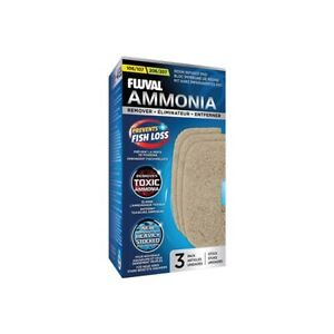 Fluval 106 107 206 207 Ammonia Remover  3 pack - A257