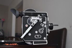 Bolex H16 Ref  Camera body with a 25mm Schneider Lens