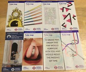 London Underground Maps X8