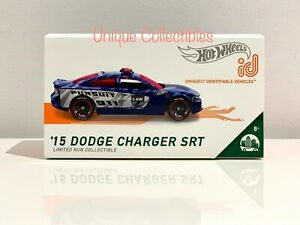 Hot Wheels iD Dodge Charger SRT HW Metro Limited Run Collectible Brand NEW