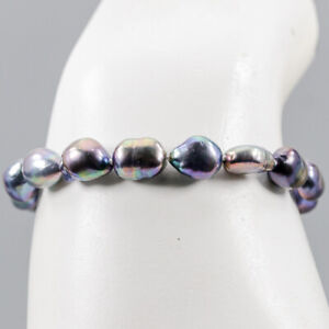 Pearl Bracelet 925 Sterling Silver Handmade Inches 7/BR04121