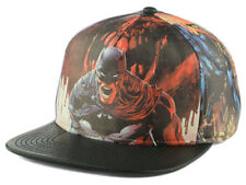 Batman DC Comics Men's Transfer Print Snapback Hat Cap - Multi/Black