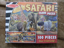 Melissa & Doug- African Plains Safari- 4 Foot Floor Puzzle - NEW