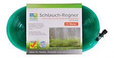 Garten-Schlauch-Regner 15 m Sprühschlauch Beregnung Bewässerung Wasserschlauch