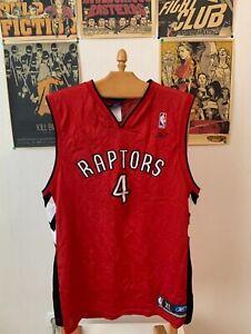 Vtg 90's Toronto Raptors Chris Bosh jersey By Reebok NBA