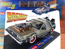 Back To The Future 3 Delorean 1:18 Scale Di-cast Model Car