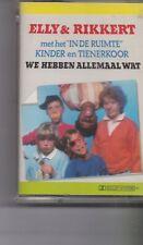 Elly&Rikkert-We Hebben Allemaal Wat music Cassette