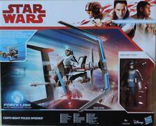 Star Wars Hasbro Force Link Canto Bight Police Speeder + Figur Ovp/moc