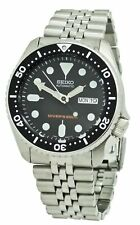 Seiko SKX007K2 Brushed Stainless Steel Wrist Watch for Men
